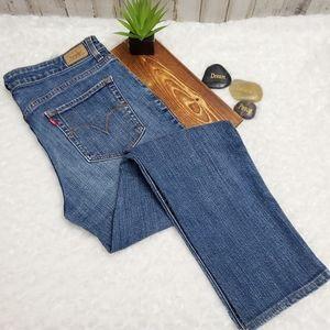 Levi's Mid Rise Skinny Blue Jeans 12m